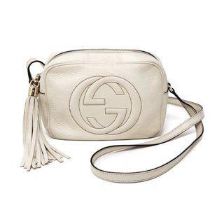 100% Auth Gucci Soho Disco Camera Crossbody Bag